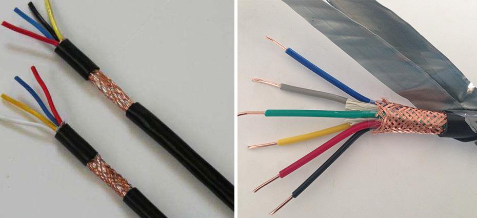 KVVP 铜丝屏蔽控制电缆